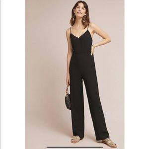 Anthropologie Essential Slim Jumpsuit Black Size 8